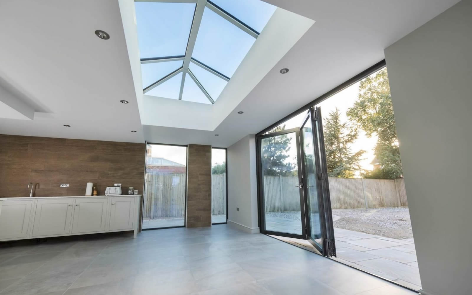 Stunning Lantern Roof by Belvedere windows