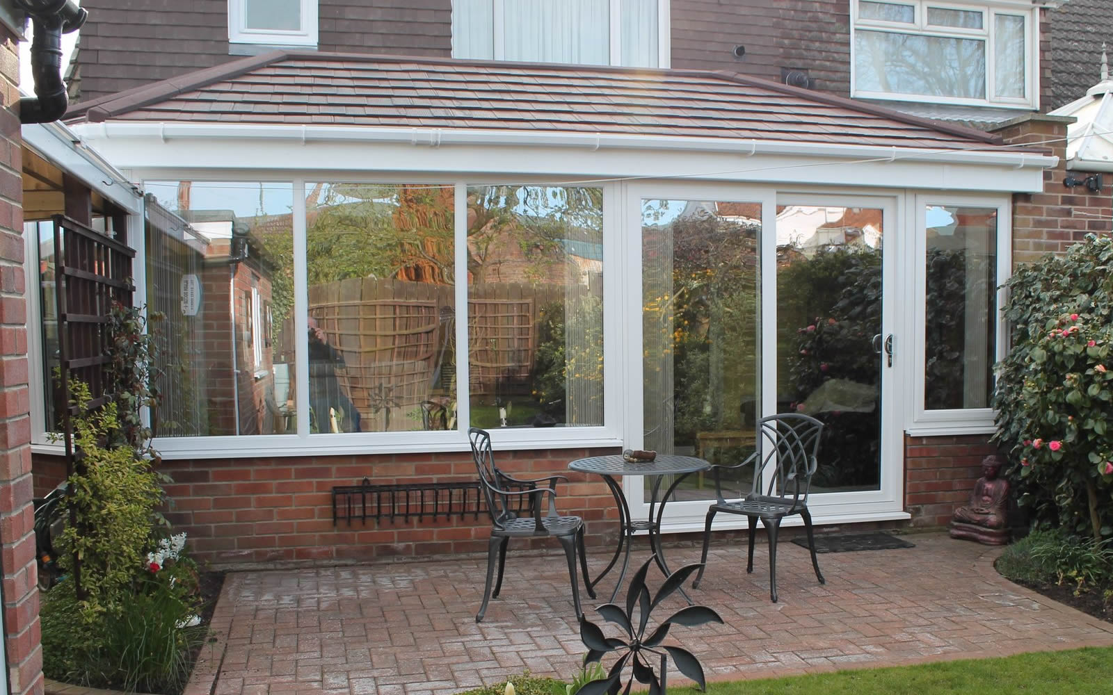 Solid Conservatory Roof by Belvedere
